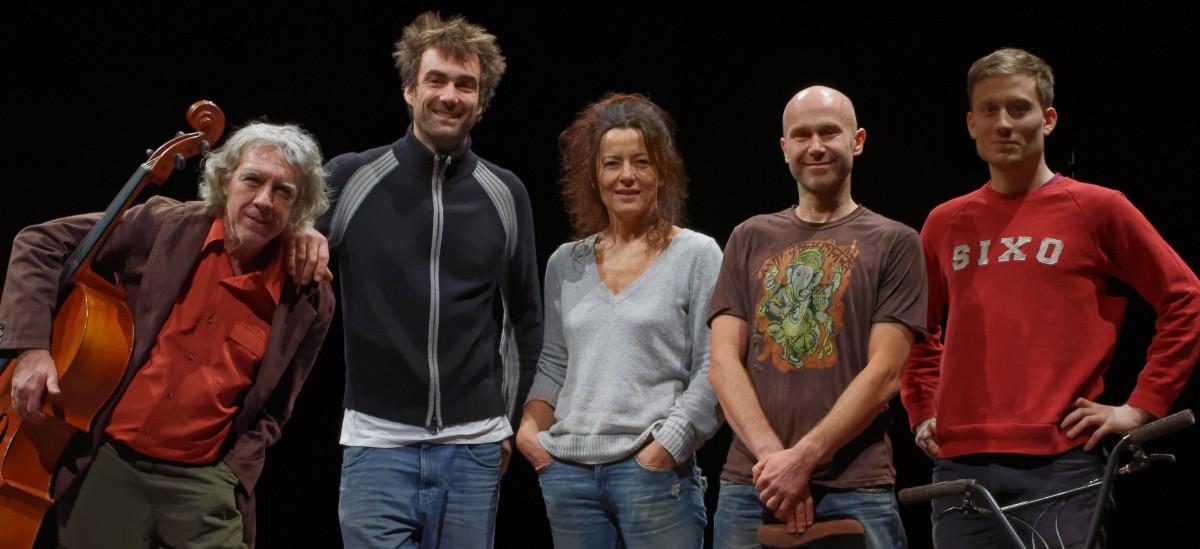 Vincent Warin et son équipe - Cie 3.6/3.4