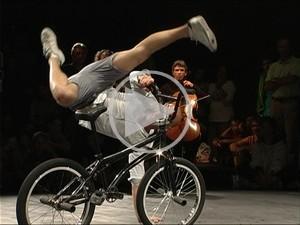 Friandises Vélicyclopédiques vidéos danse sur vélo bmx