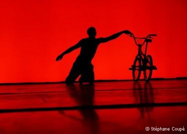 Les spectacles : Trois-quatre petites pièces pour vélo, de Vincent Warin Compagnie 3.6/3.4